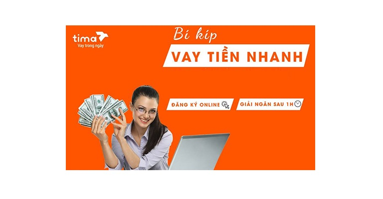 Vay tiền nhanh online tima