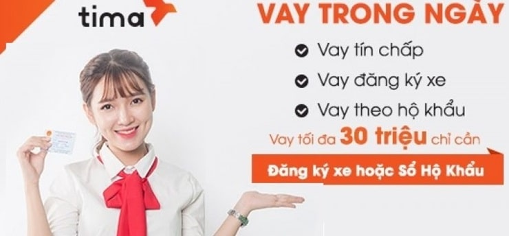 Vay tiền online tima nhanh