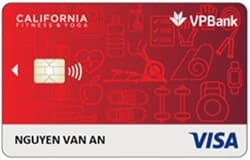 So sánh thẻ VPBank MC2 Vs California Fitness Visa Platinum 1